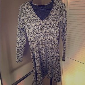 Fit Long Sleeve Dress